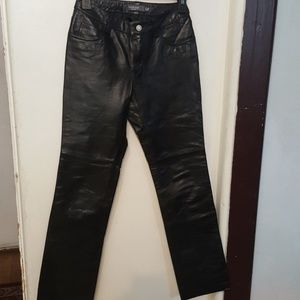 Gap leather pant jeans  style bootcut